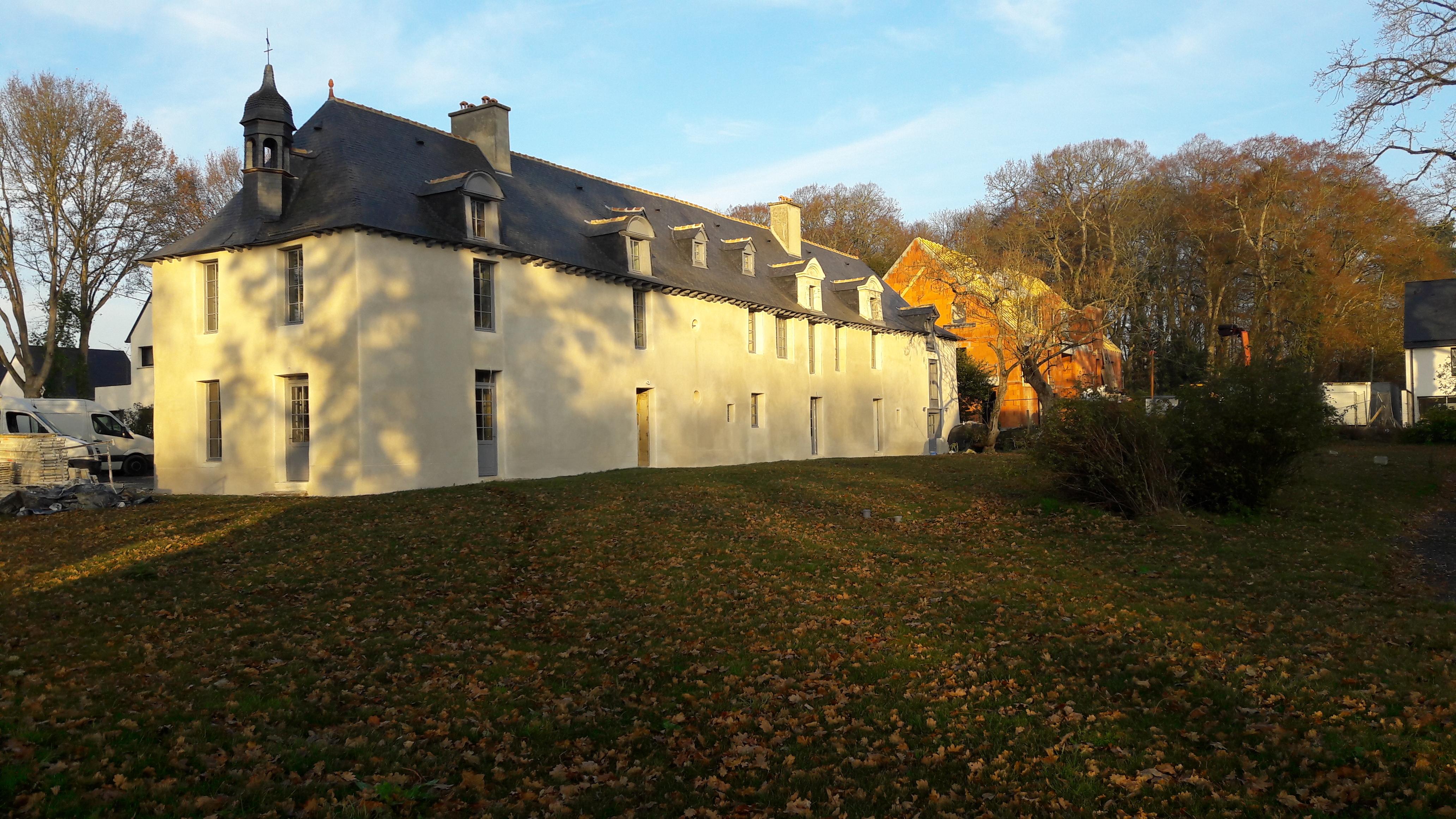 vue du sud est, Gîtes du château des Fontenelles, Rennes