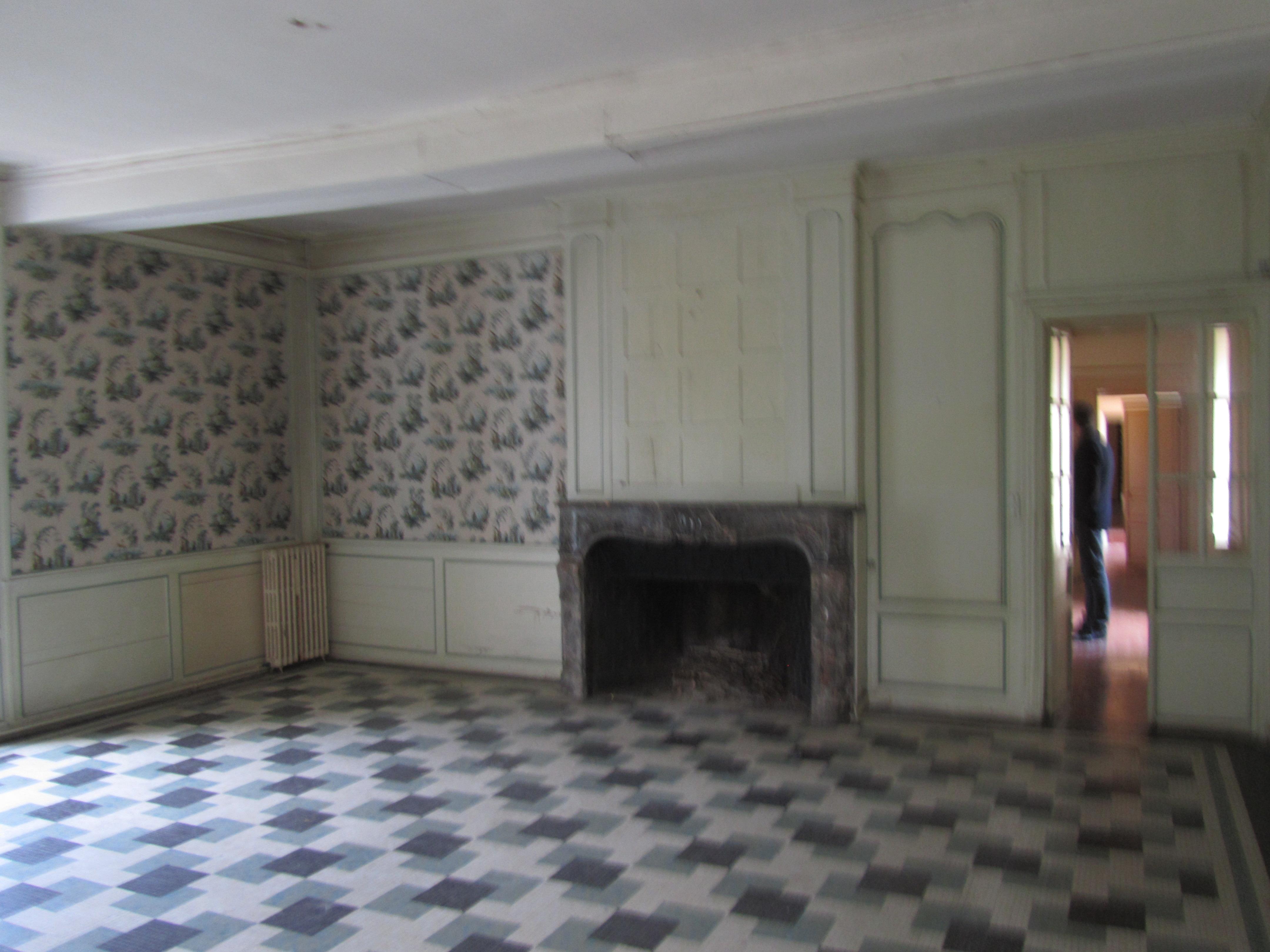avant travaux, Gîtes du château des Fontenelles, Rennes