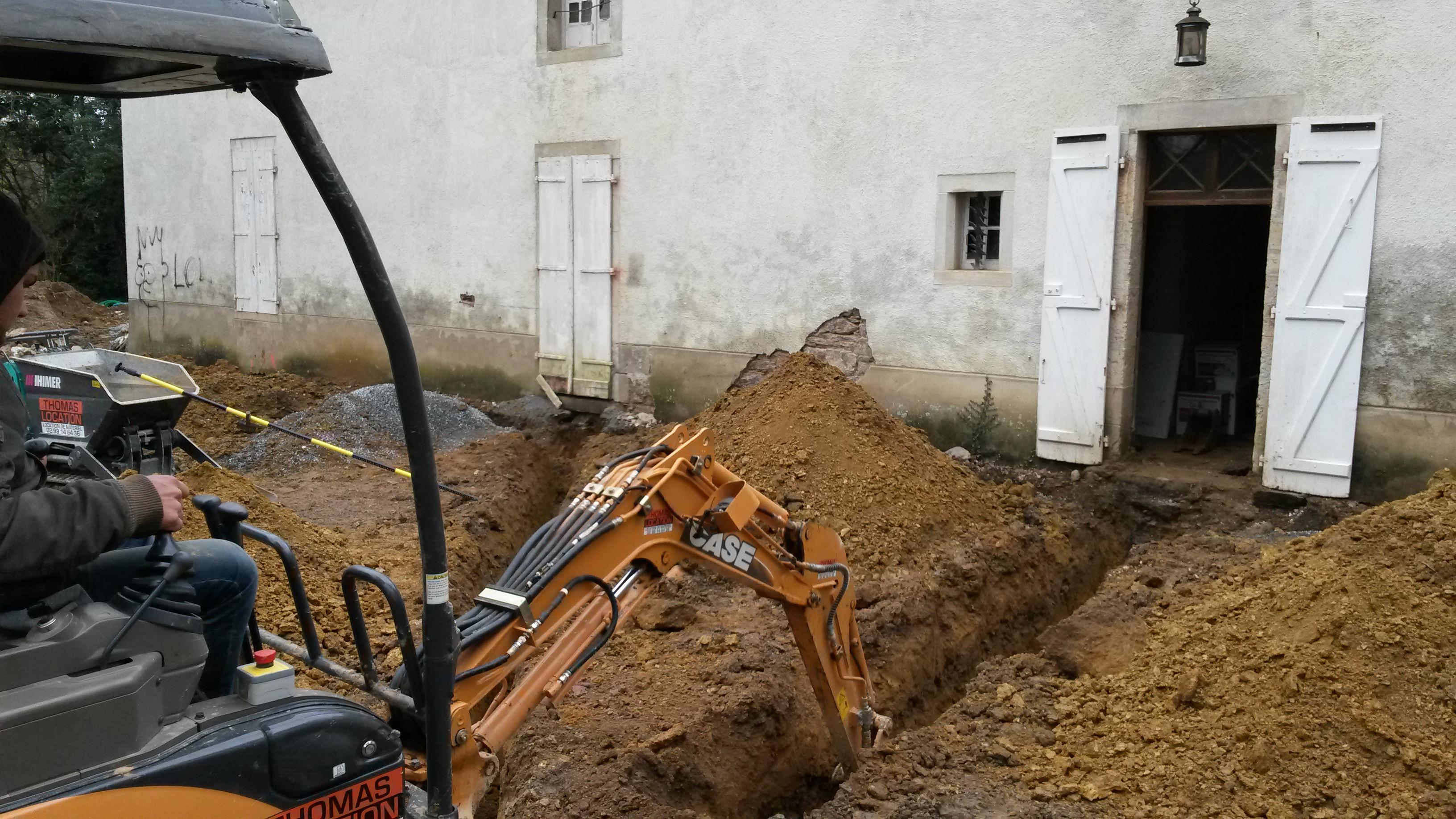les tranchées, Gîtes du château des Fontenelles, Rennes