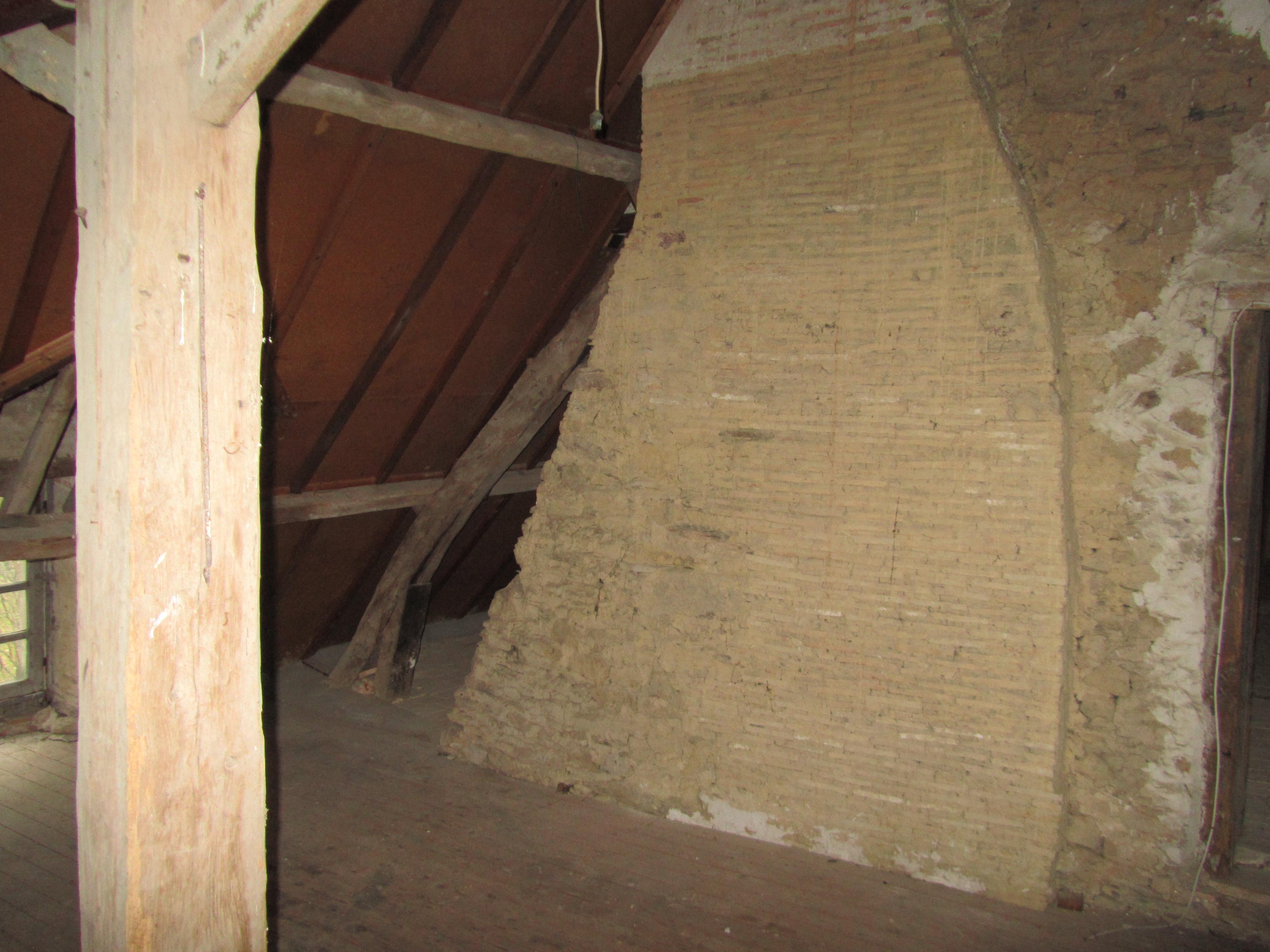 Sous les toits chateau des Fontenelles