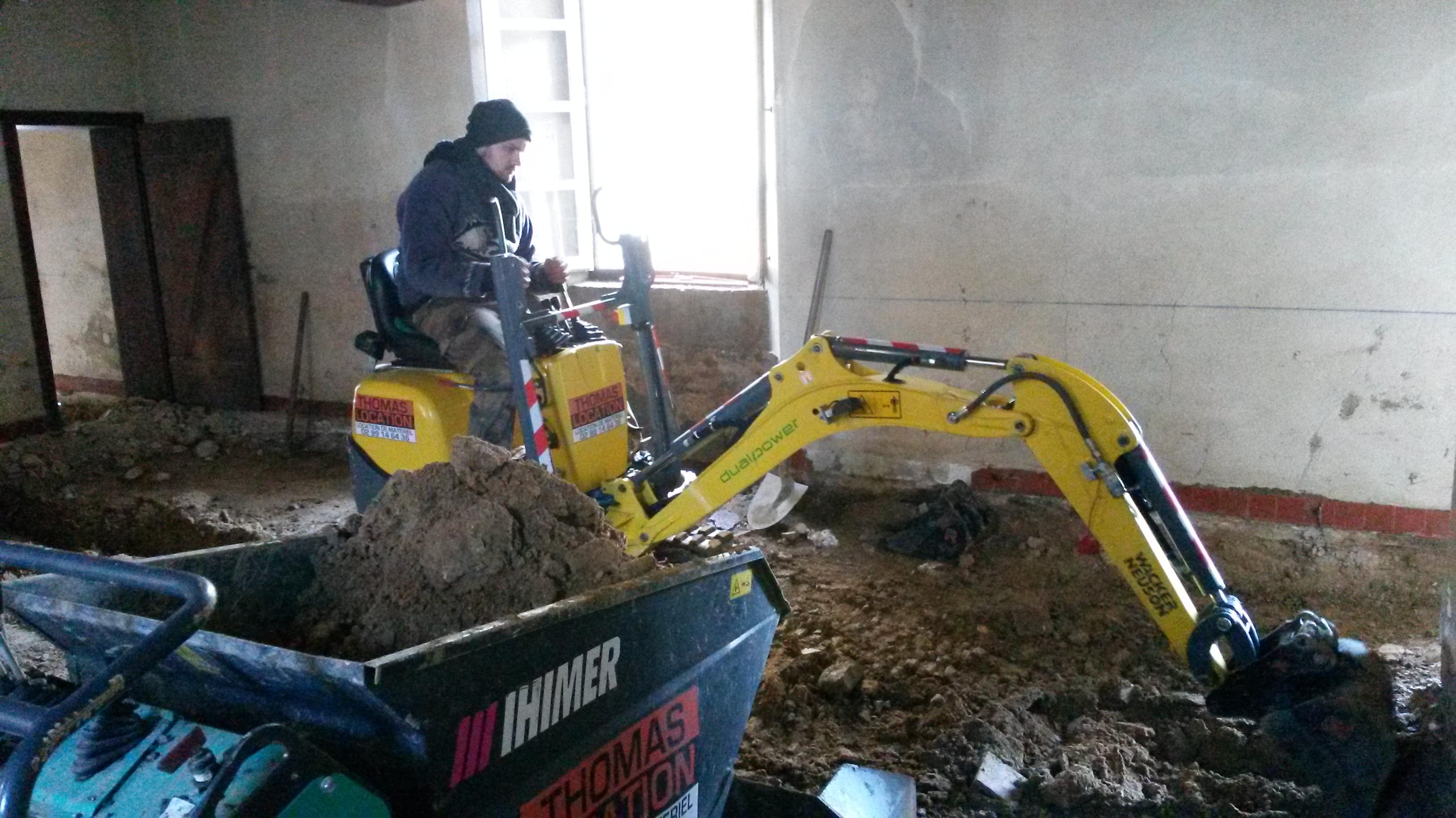 Nouveaux sols pour les gites Château des Fontenelles